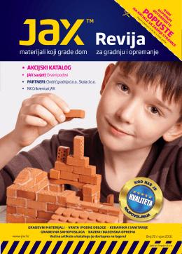 Pročitajte novu Jax reviju za rujan