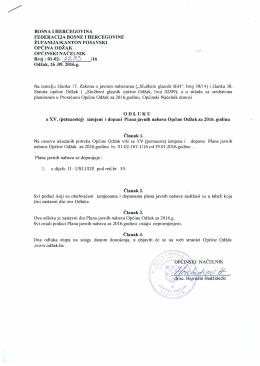 L. - Općina Odžak