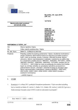 12175/16 mb/DP/ak 1 DGB 2B I. UVOD 1. Komisija je 6. svibnja