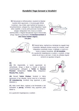 Kundalini Yoga Sorozat a Vesékért