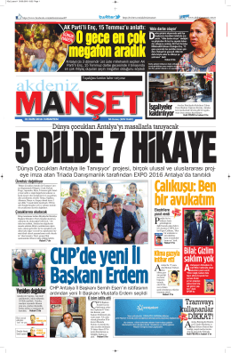 Çalıkuşu: Ben bir avukatım - Antalya Haber - Haberler