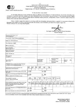 Subject: Student Identification Sheet TL. GENCL1K VE SPOR