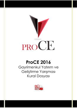 ProCE 2016
