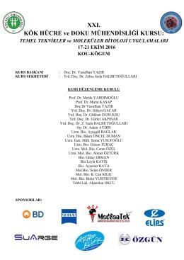 Kurs programı - KÖGEM - Kocaeli Üniversitesi