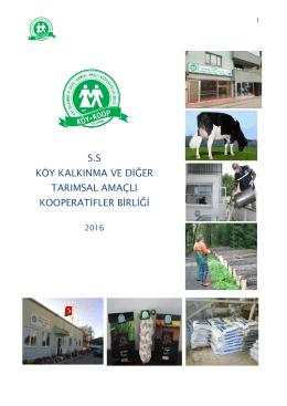 tanıtım kitapçığı - Kastamonu Köy Koop