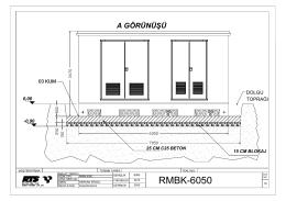 rmbk-6050 (dağıtım merkezi)-ön görünüş