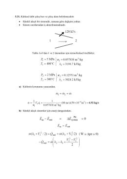 5. Bölüm örnek soru çözümleri