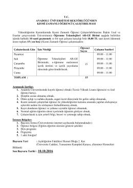 Açıköğretim Fakültesi-Öğrenme Teknolojileri AR