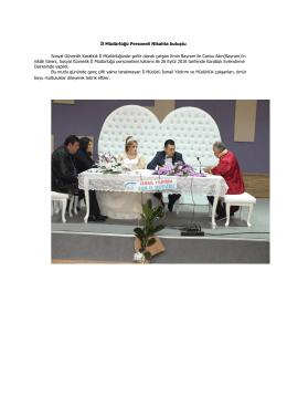 9/26/16 İl Müdürlüğü Personeli Nikahta buluştu