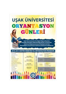 İç - Uşak Üniversitesi