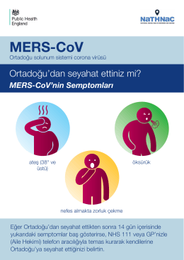 MERS Cov advice sheet-tur
