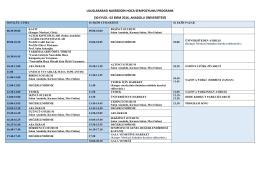 30 eylül- 02 ekim 2016, anadolu üniversitesi