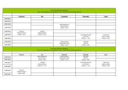 2016-2017 eğitim-öğretim yılı güz dönemi ders programı