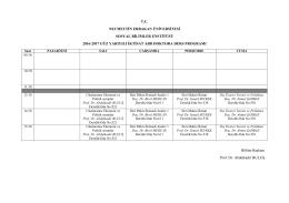 tc necmettin erbakan üniversitesi sosyal bilimler enstitüsü 2016