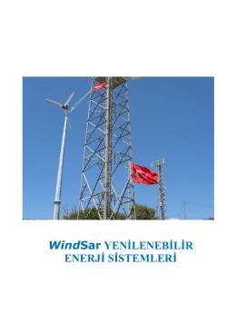 WindSar YENİLENEBİLİR ENERJİ SİSTEMLERİ - Wind