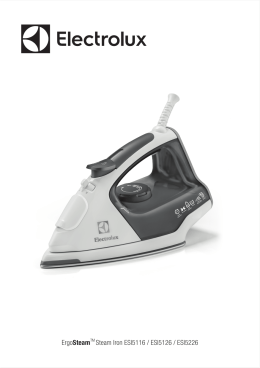 ErgoSteamTM Steam Iron ESI5116 / ESI5126 / ESI5226