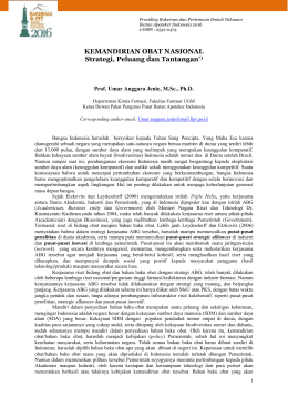 Artikel Prof. Umar