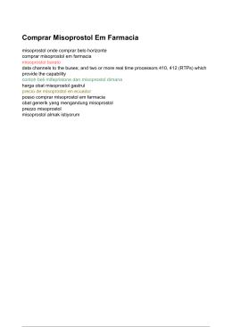 Comprar Misoprostol Em Farmacia - Precio De