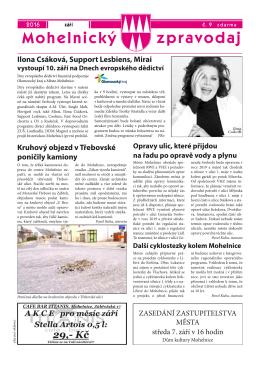 číslo 9 (září 2016)