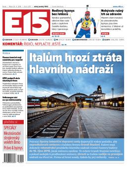 Italům hrozí ztráta hlavního nádraží