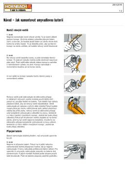 Návod - Jak namontovat umyvadlovou baterii