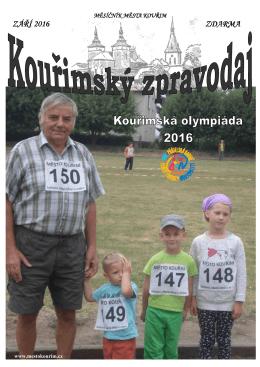 Kouřimský zpravodaj 9/2016