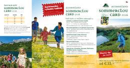 Sommerclou Card 2016
