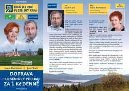 DOPRAVA ZA 1 Kč DENNĚ - Koalice pro Plzeňský kraj