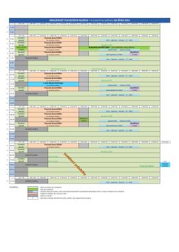 tabulka obsazenosti bazénu v říjnu 2016
