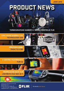 Speciální slevová akce na termokamery FLIR
