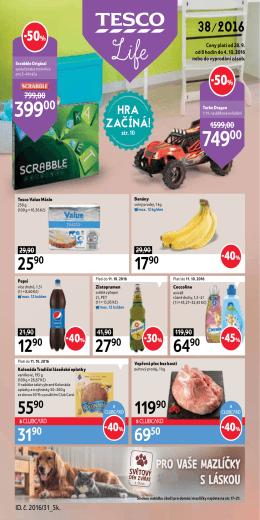 Leták - Hypermarkety