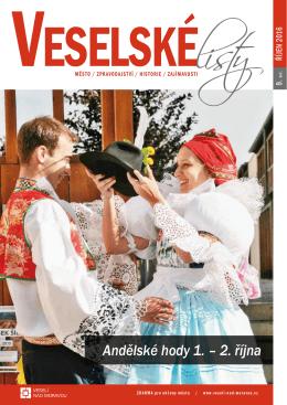 Veselské listy, měsíc 2016/10 - říjen