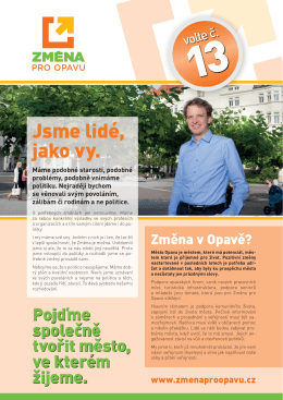 Změna pro Liberecký kraj