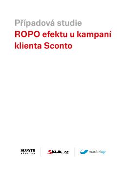 Případová studie ROPO efektu u kampaní klienta