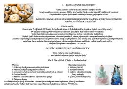 Rožďalovické koláčobraní a cukrářský kurz (8. 10. 2016)
