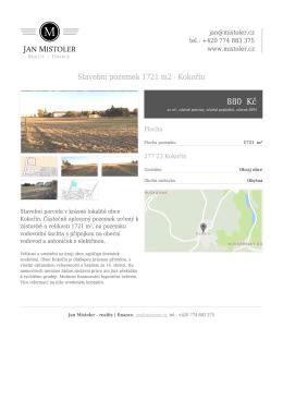 PDF karta - Jan Mistoler