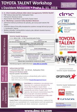 Toyota Talent Worskhop