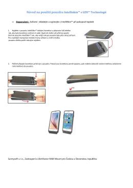 Intelliskin™ s GDS™ pro telefon