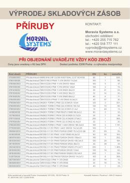 příruby - Moravia Systems