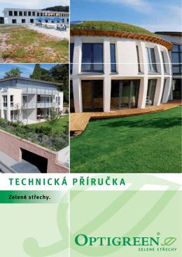 technická příručka - Zelené střechy Optigreen