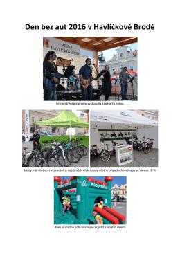Den bez aut 2016 v Havlíčkově Brodě