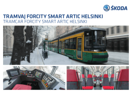TRAMVAJ FORCITY SMART ARTIC HELSINKI