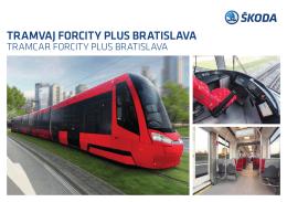 tramvaj forcity plus bratislava