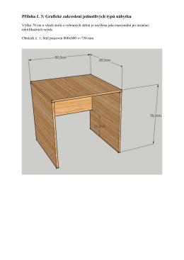 Příloha č. 3 Grafické zakreslení - E