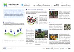 Adaptace na změnu klimatu z perspektivy urbanismu