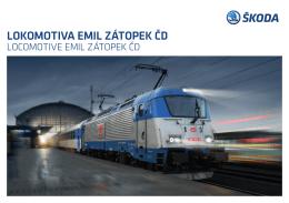 lokomotiva emil zátopek čd