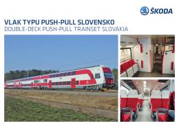vlak typu push-pull slovensko