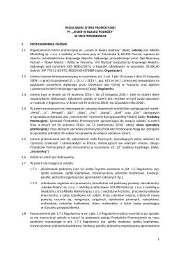 Regulamin - Intermarche