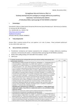 Nr sprawy 16/2004/Z - Samodzielny Publiczny Zakład Opieki