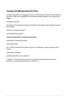 Compra De Misoprostol En Peru - Venta De Misoprostol